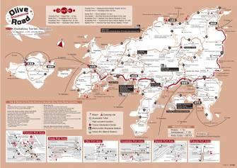 小豆島マップ(英語版)