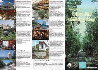Olive Hill Walking Map ①