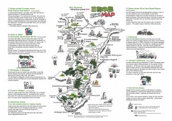 Mito Peninsula Attraction point Map②