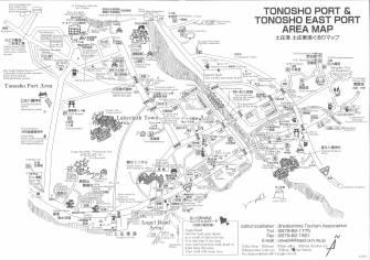 TONOSHO PORT&TONOSHO EAST PORT AREA MAP