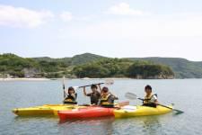 小豆島ふるさと村2 シーカヤック ©(一社)小豆島観光協会