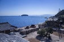 二十四の瞳映画村32 海の風景 ©二十四の瞳映画村