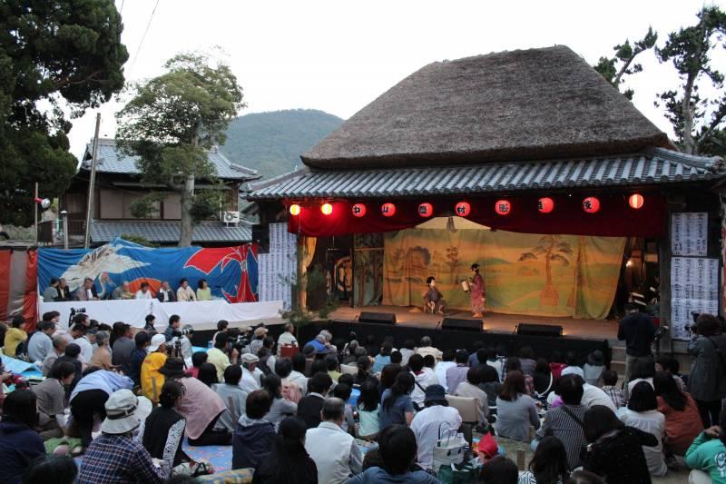 中山農村歌舞伎1 ©(一社)小豆島観光協会