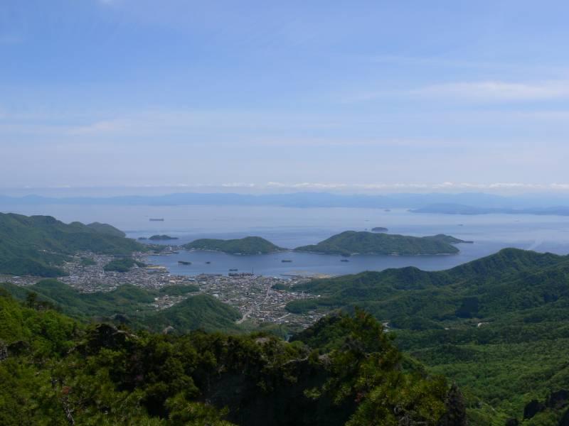 寒霞渓4 鷹取展望台 ©(一社)小豆島観光協会