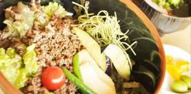 ひしお丼 -小豆島オリーブ園 オリーブパレス-