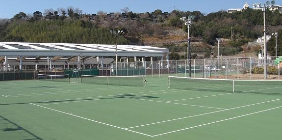 テニスコート - 小豆島ふるさと村-