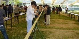 そうめん流し体験 -小豆島ふるさと村-