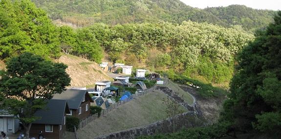 キャンプ場 -小豆島ふるさと村-