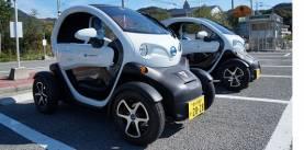 電気小型レンタカー豆モビ -小豆島ふるさと村-