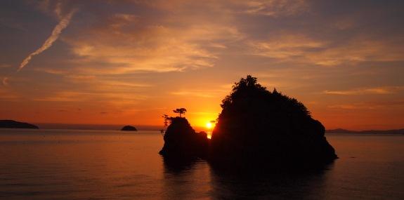 朝陽スポット -花寿波島-