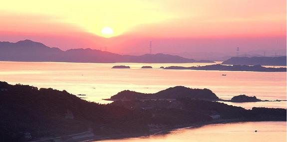 夕陽スポット -夕陽ヶ丘~屋形崎-
