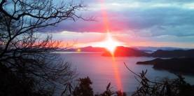 夕陽スポット-洞雲山~碁石山-