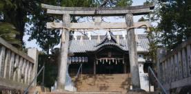 内海八幡宮神社石鳥居