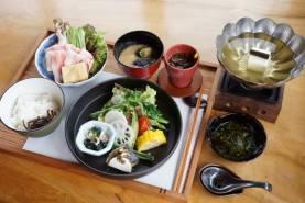 一人鍋定食(島鱧のしゃぶしゃぶ) 創作料理 野の花