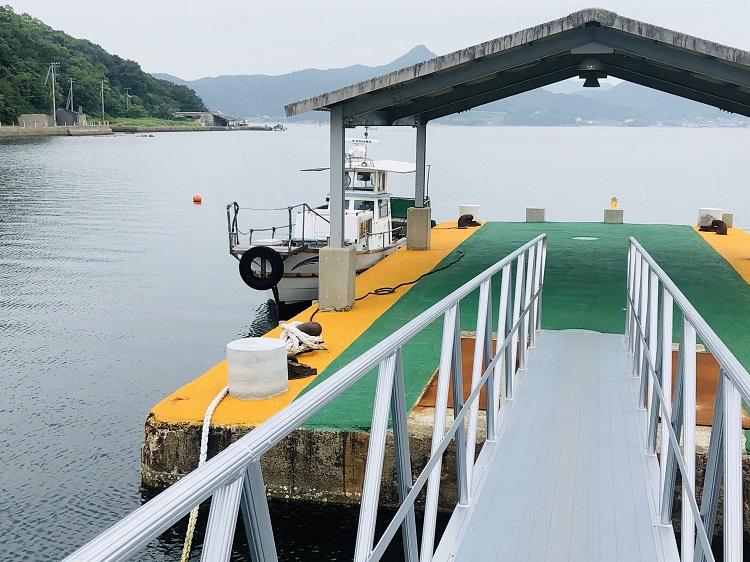 渡し舟(オリーブナビ~二十四の瞳映画村)