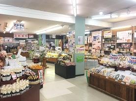 寒霞渓ロープウェイ 山頂売店