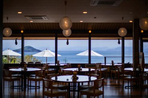 レストラン「オリーブパレスRestleA(レストレア)」 ー小豆島オリーブ園ー