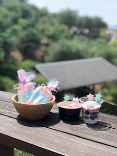 オリジナルバスボム作り体験 ―小豆島オリーブ園―