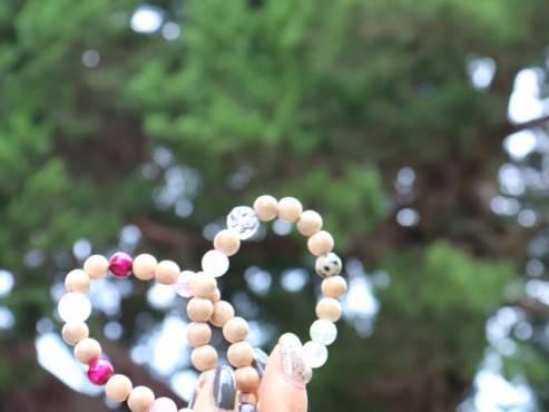オリーブ腕輪念珠・かりろく体験 ‐宝生院‐